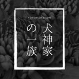 横溝正史「犬神家の一族」原作ネタバレ解説と感想