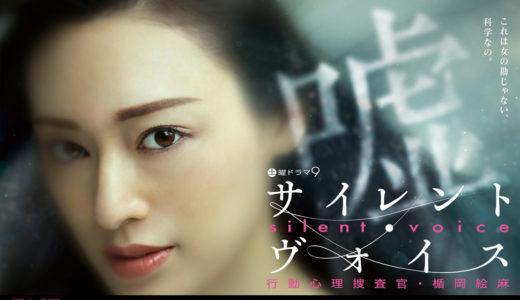 ドラマ「サイレント・ヴォイス 行動心理捜査官・楯岡絵麻」あらすじ感想